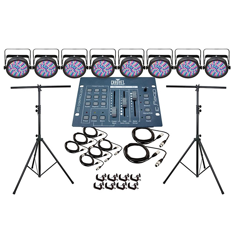 CHAUVET DJ Par 56 8 Light System
