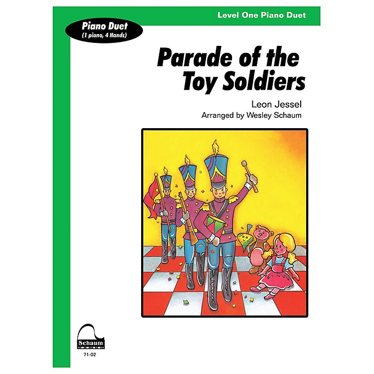 SCHAUM Parade Of Toy Soldiers (duet) Educational Piano Series Softcover