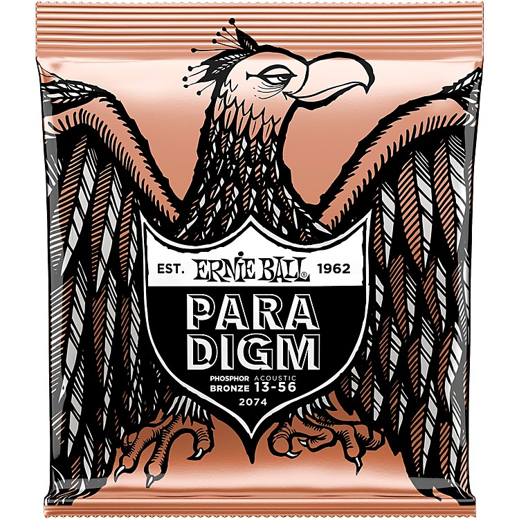 Ernie Ball Paradigm Phosphor Bronze Acoustic Guitar Strings Medium