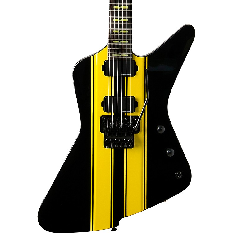 WashburnParallaxe Z2FR Michael Sweet USABlack and Yellow