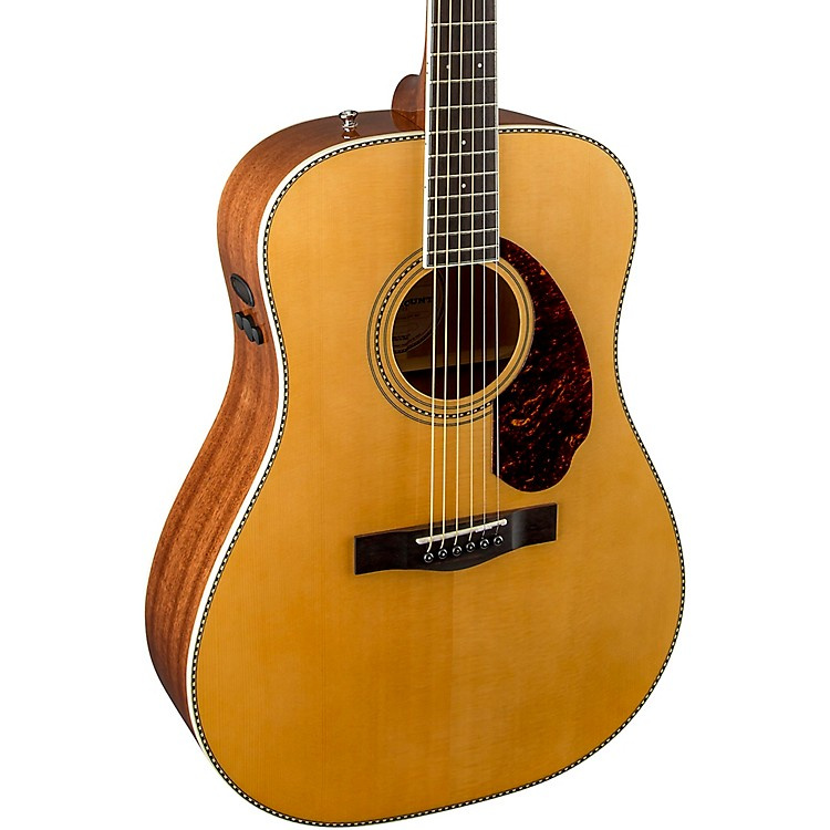 FenderParamount Series PM-1 Dreadnought Acoustic-Electric GuitarNatural