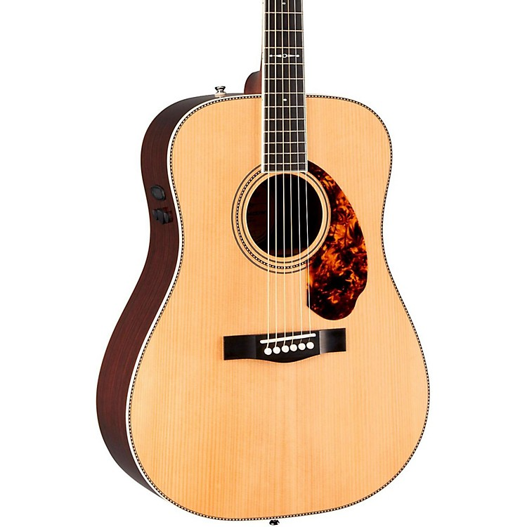 Fender Paramount Series PM-1 Limited Adirondack Dreadnought, Rosewood Acoustic-Electric Guitar Natural