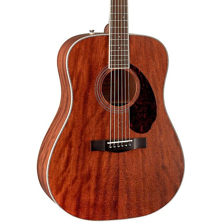 FenderParamount Series PM-1 Standard All-Mahogany Dreadnought Acoustic GuitarNatural
