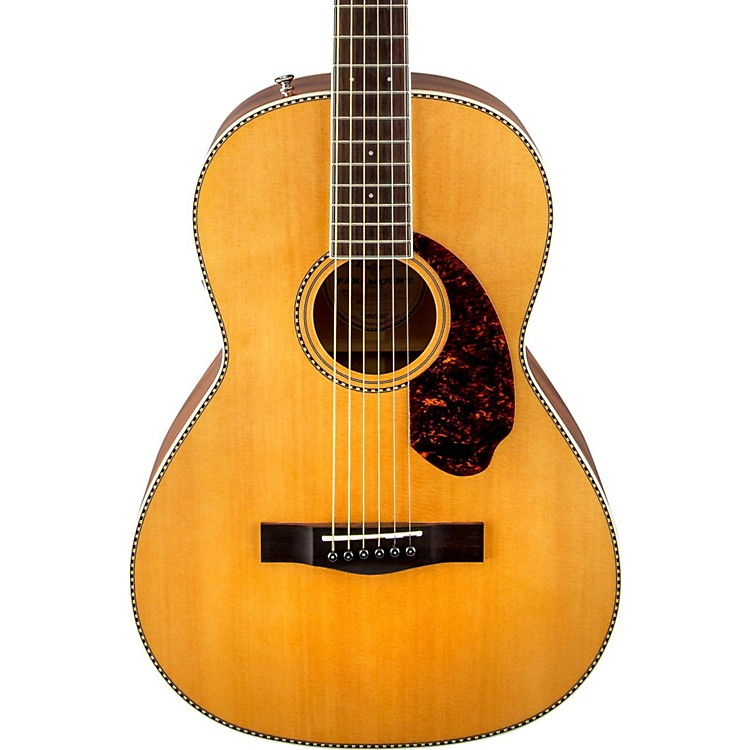 Fender Paramount Series PM-2 Standard Parlor Acoustic-Electric Guitar Natural