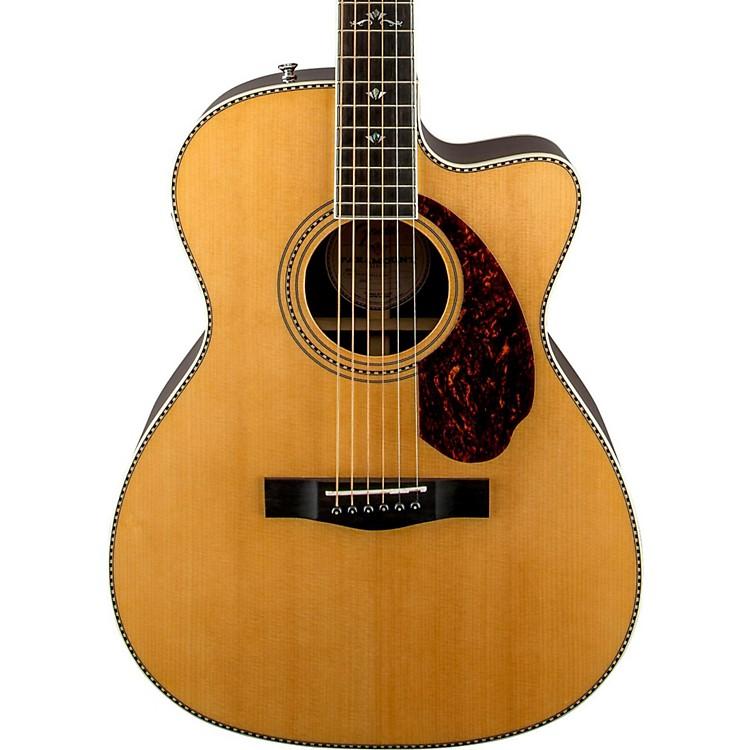 FenderParamount Series PM-3 Deluxe Cutaway Triple-0 Acoustic-Electric GuitarNatural