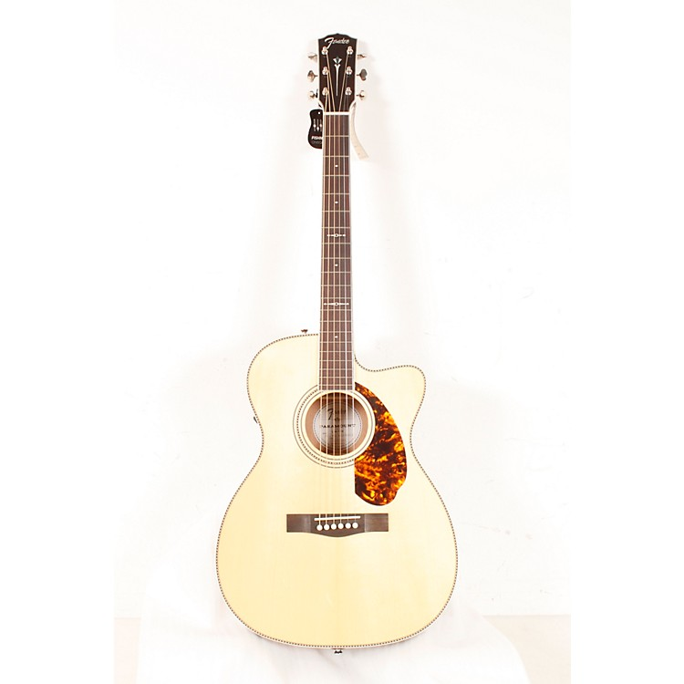 FenderParamount Series PM-3 Limited Adirondack Spruce/Mahogany Cutaway Triple-0 Acoustic-Electric Guitar