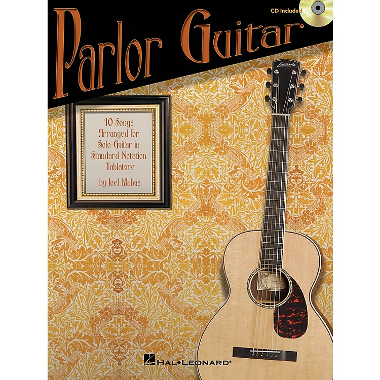 Hal Leonard Parlor Guitar Guitar Solo Series Softcover with CD