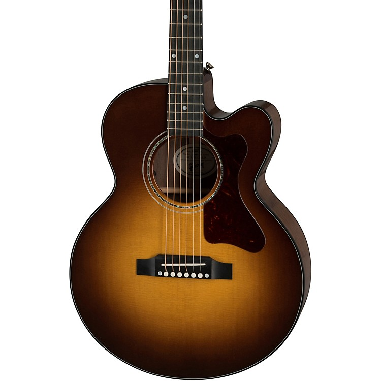 Gibson Parlor Modern Acoustic-Electric Guitar Walnut Burst