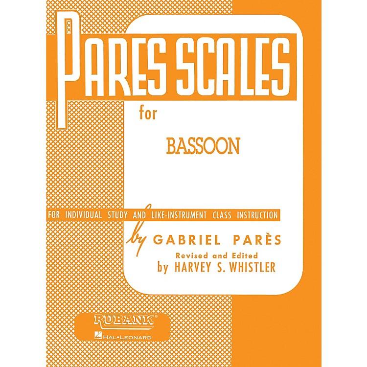 Hal LeonardPar¨s Scales For Bassoon