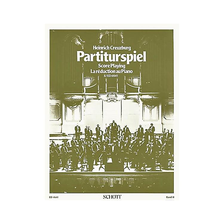 SchottPartiturspiel Old Clefs (Score Playing) (Volume 2) Schott Series