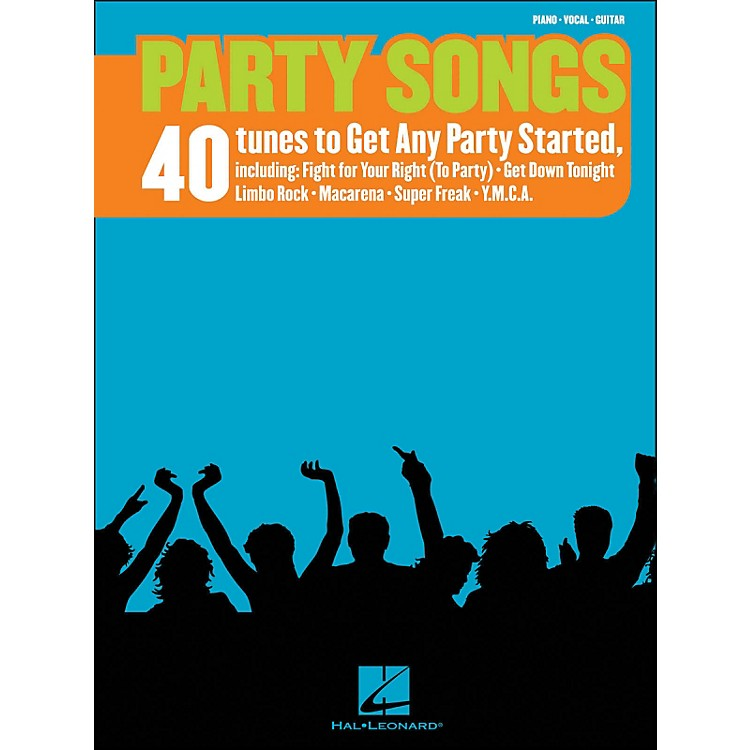Hal Leonard Party Songs 40 Tunes To Get Any Party Started arranged for piano, vocal, and guitar (P/V/G)