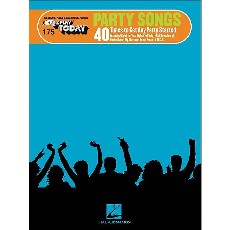 Hal LeonardParty Songs E-Z Play 175
