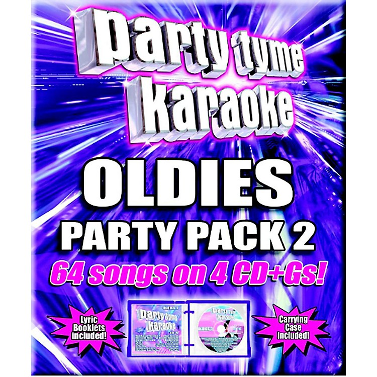 SYBERSOUND Party Tyme Karaoke - Oldies Party Pack 2