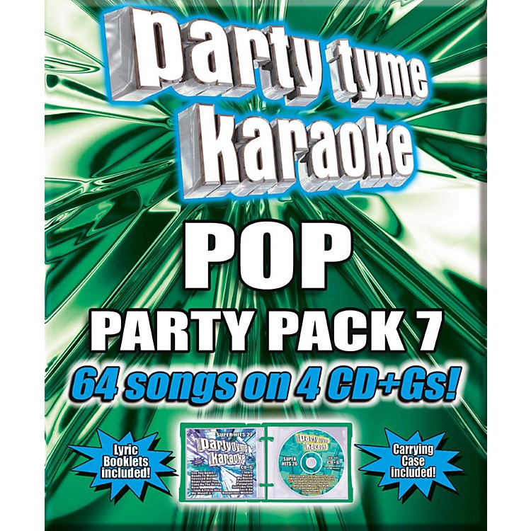 Universal Music GroupParty Tyme Karaoke - Pop Party Pack 7 [4CD]