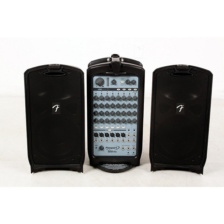 Fender Passport 500 Pro Portable PA System  888365899367