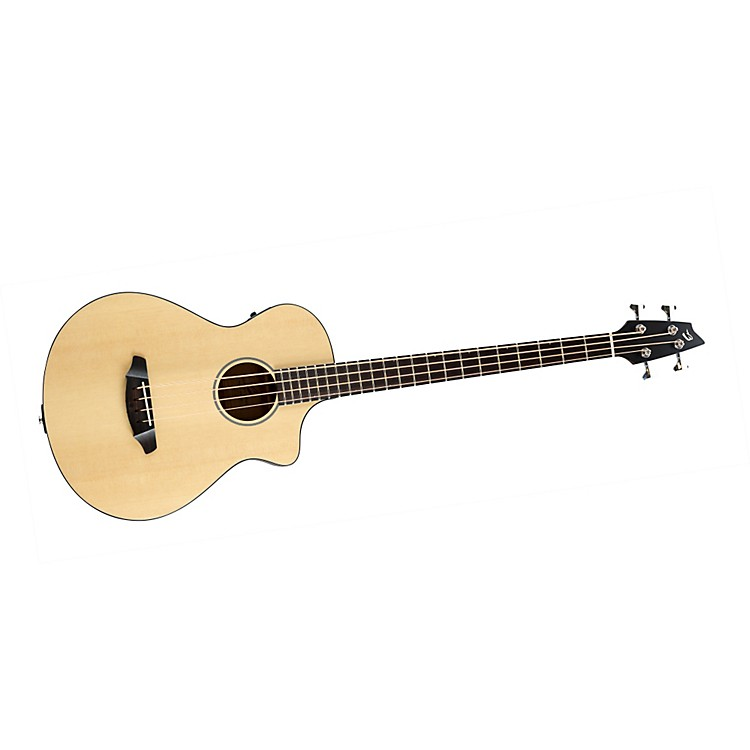 Breedlove Passport B350/SMe4 Acoustic-Electric Bass Guitar Natural