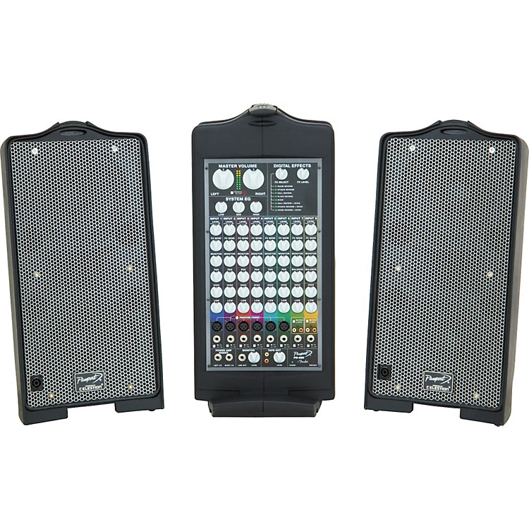fender passport deluxe pd 500 portable pa system music123. Black Bedroom Furniture Sets. Home Design Ideas