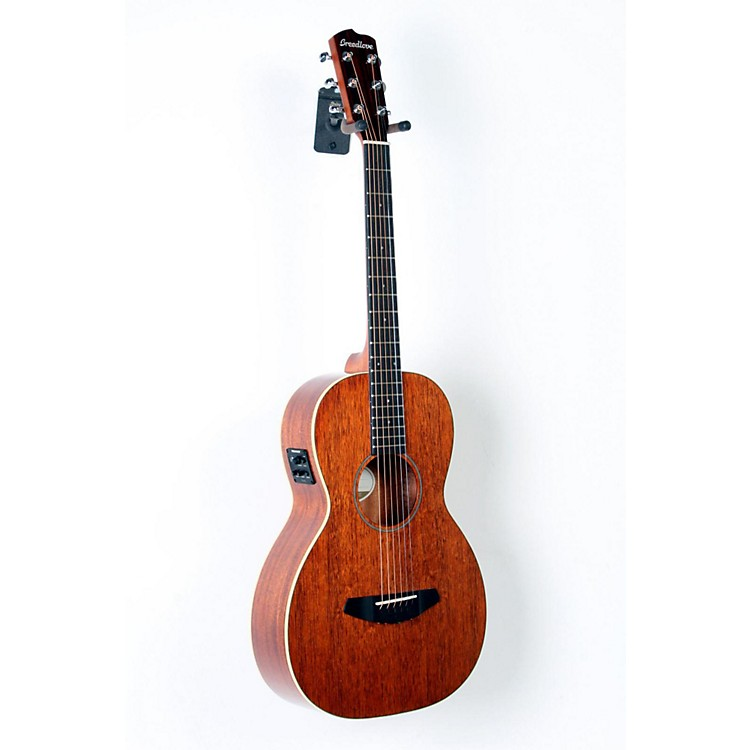 Breedlove Passport Mahogany Top Parlor Acoustic-Electric Guitar Natural 888365698120