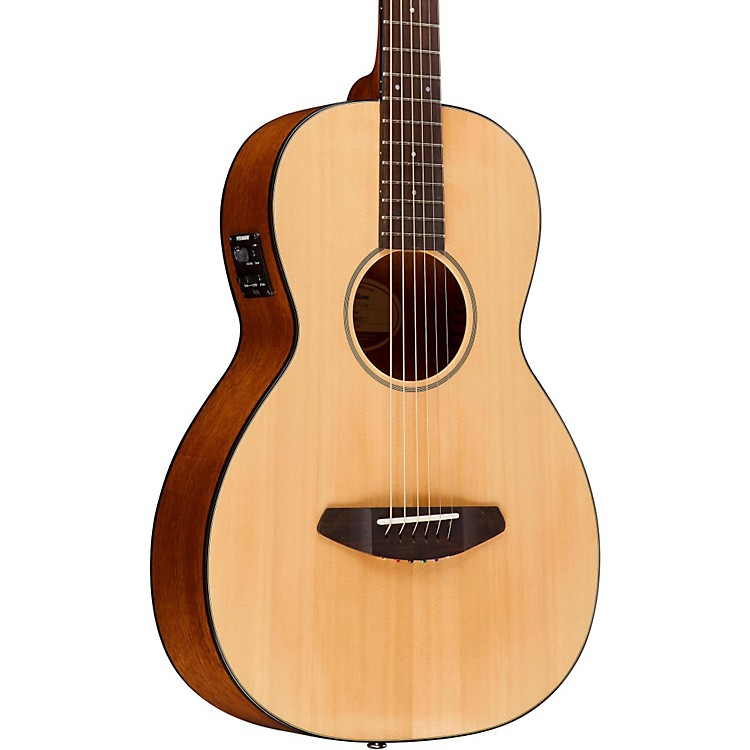 Breedlove Passport Spruce Top Parlor Acoustic-Electric Guitar Natural