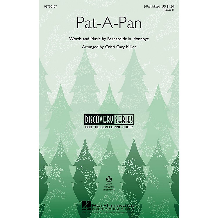 Hal LeonardPat-a-Pan (Discovery Level 2) 3-Part Mixed arranged by Cristi Cary Miller