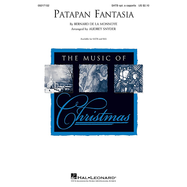 Hal LeonardPatapan Fantasia SSA Arranged by Audrey Snyder