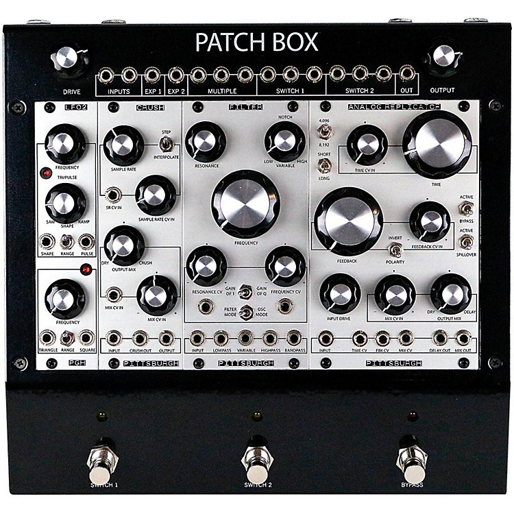 Pittsburgh Modular SynthesizersPatch Box FX1 Modular Eurorack Multi-Effects Pedal System