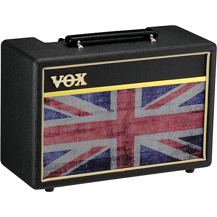 Vox Pathfinder 10 10W 1x6.5 Limited Edition Union Jack Guitar Combo Amp Black