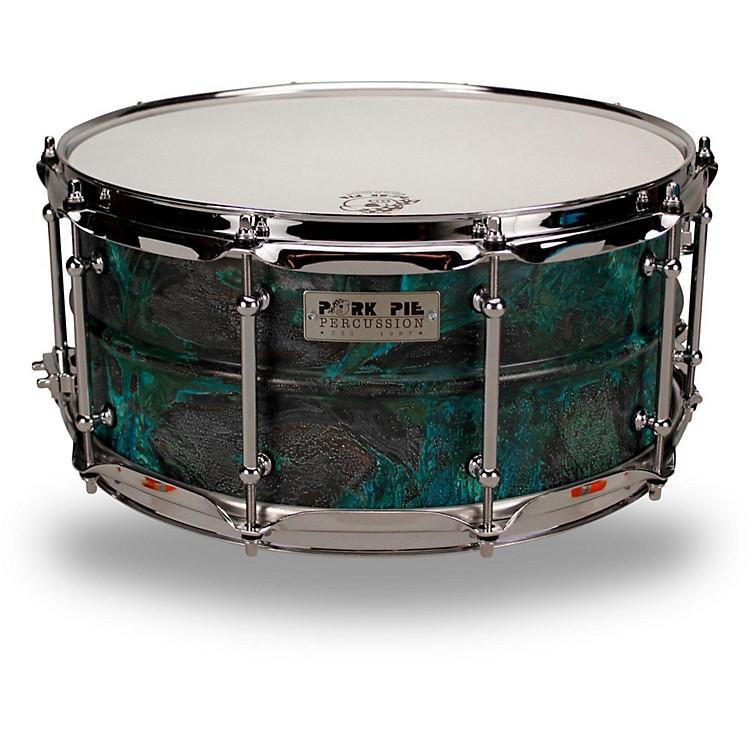 Pork PiePatina Brass snare drum14 x 6.5 in.