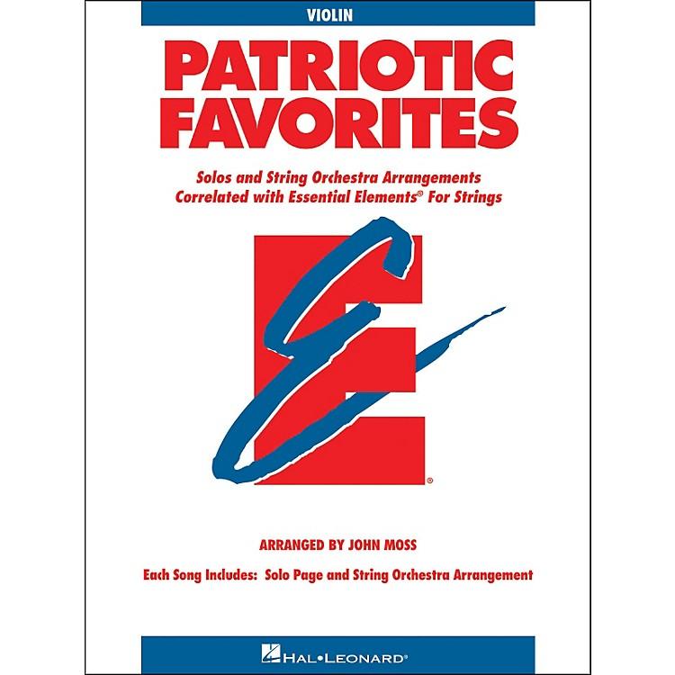 Hal LeonardPatriotic Favorites for Strings Violin Essential Elements