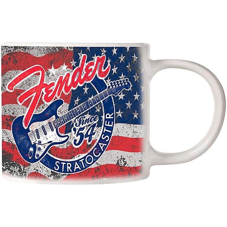 FenderPatriotic Strat Mug 14 oz
