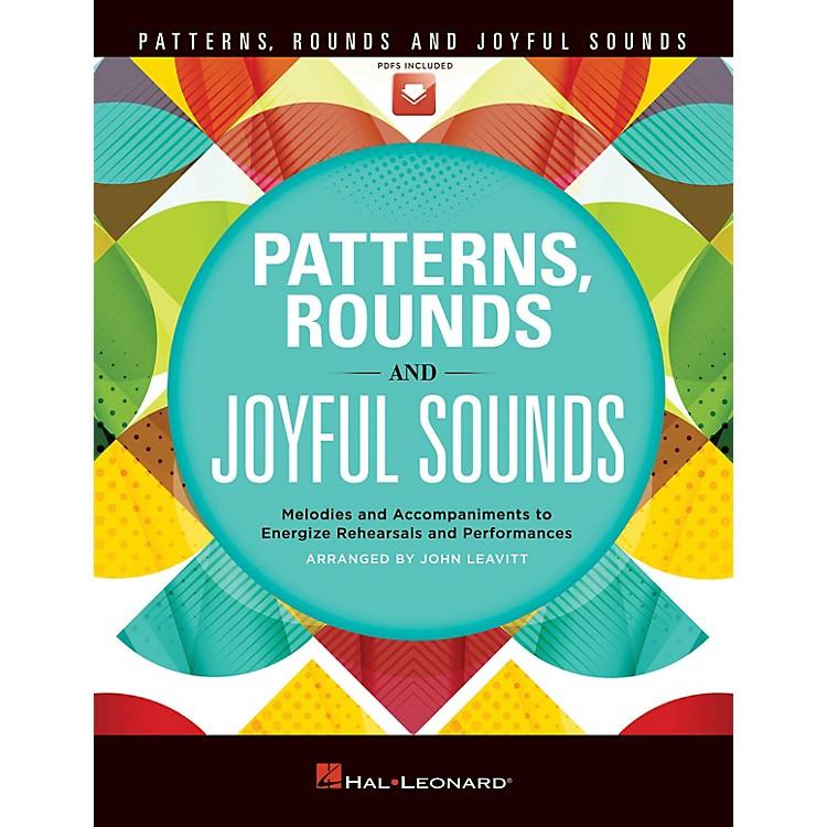 Hal LeonardPatterns, Rounds and Joyful Sounds (Collection) TEACHER WITH AUDIO CODE by John Leavitt
