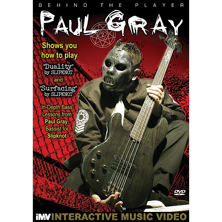IMV Paul Gray: Behind the Player DVD