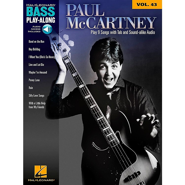Hal Leonard Paul McCartney - Bass Play-Along Volume 43 Book/CD