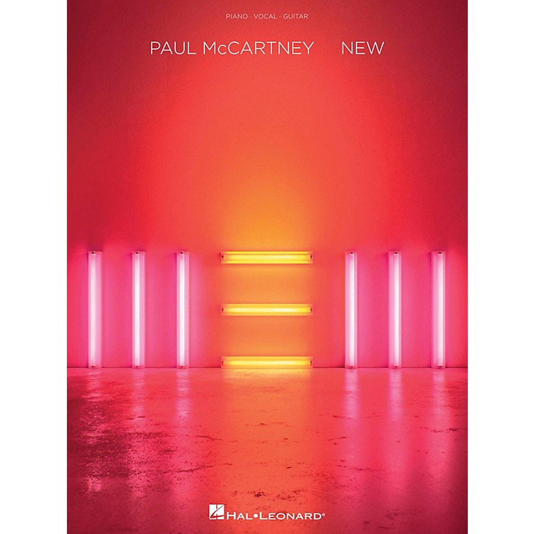 Hal Leonard Paul Mccartney - New for Piano/Vocal/Guitar