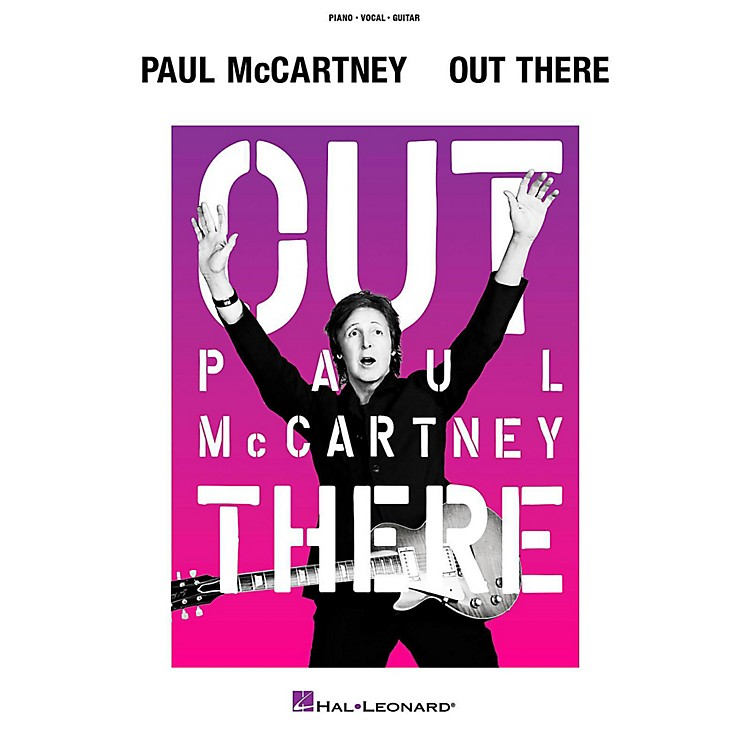 Hal LeonardPaul Mccartney - Out There Tour Piano/Vocal/Guitar Songbook