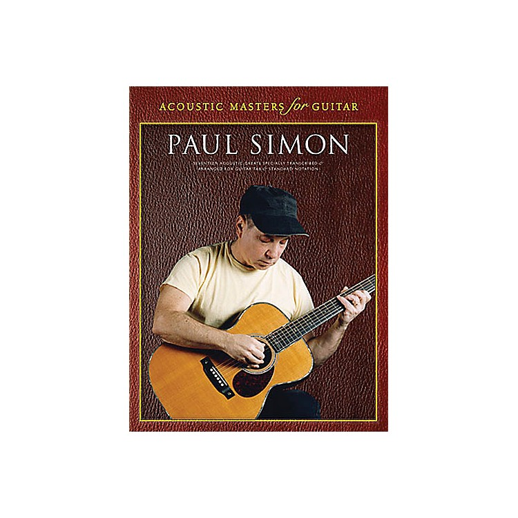 Music Sales Paul Simon - Acoustic Masters for Guitar (Guitar Tab) Music Sales America Series Softcover by Paul Simon