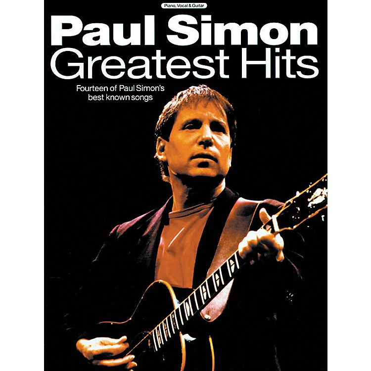 Music SalesPaul Simon - Greatest Hits Music Sales America Series Softcover Performed by Paul Simon