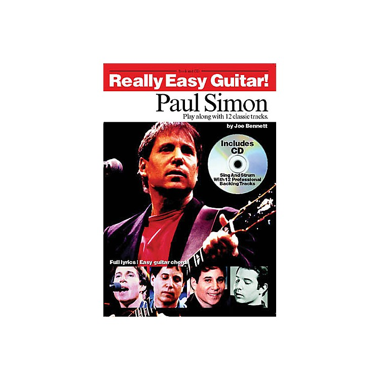Music SalesPaul Simon - Really Easy Guitar! Music Sales America Series Softcover with CD Performed by Paul Simon