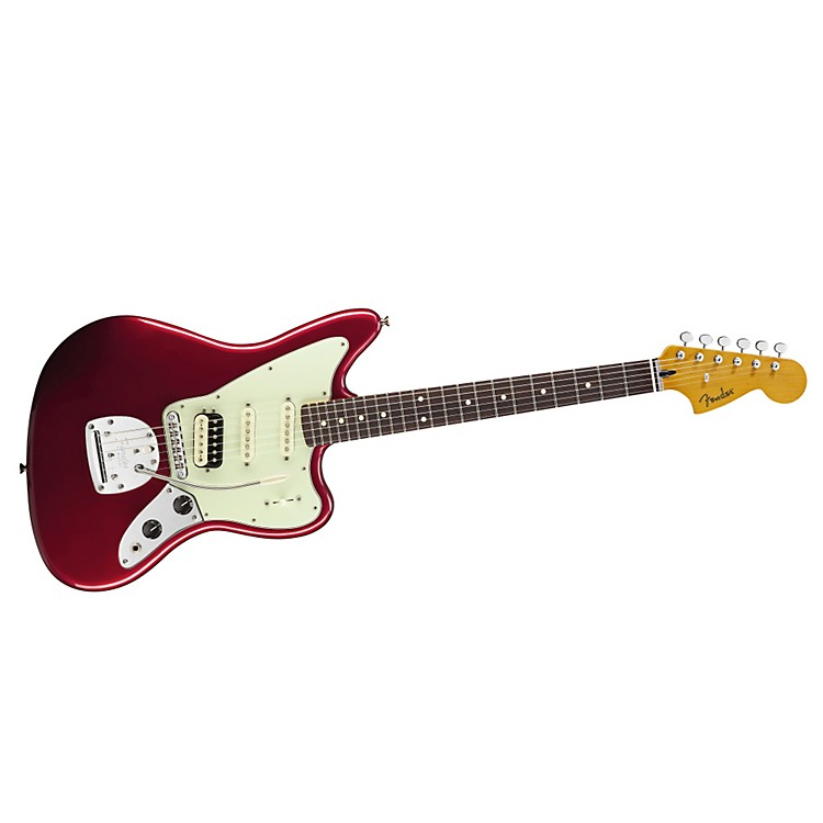 FenderPawn Shop Jaguarillo Electric GuitarCandy Apple RedRosewood Fingerboard