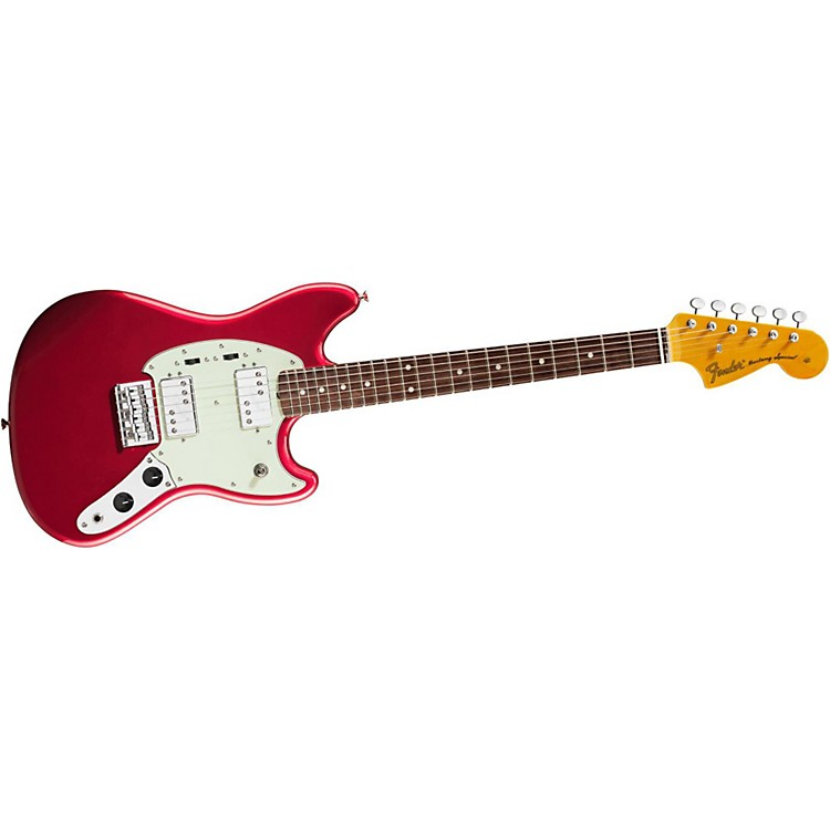 Fender Pawn Shop Mustang Special Electric Guitar Candy Apple Red Rosewood Fingerboard