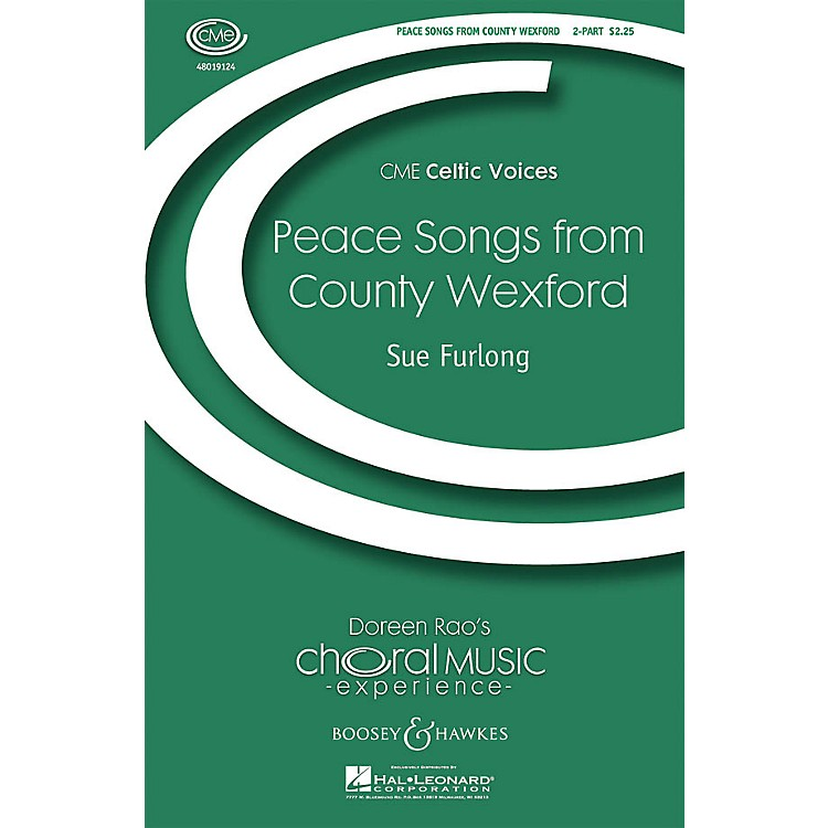 Boosey and HawkesPeace Songs from County Wexford (CME Celtic Voices) 2-Part composed by Sue Furlong