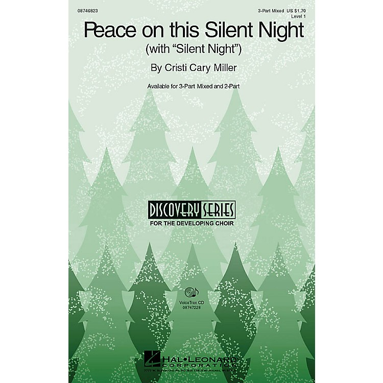 Hal LeonardPeace on This Silent Night (with Silent Night) VoiceTrax CD Composed by Cristi Cary Miller