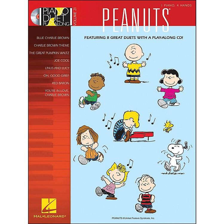 Hal LeonardPeanuts - Piano Duet Play-Along Volume 21 (CD/Pkg)