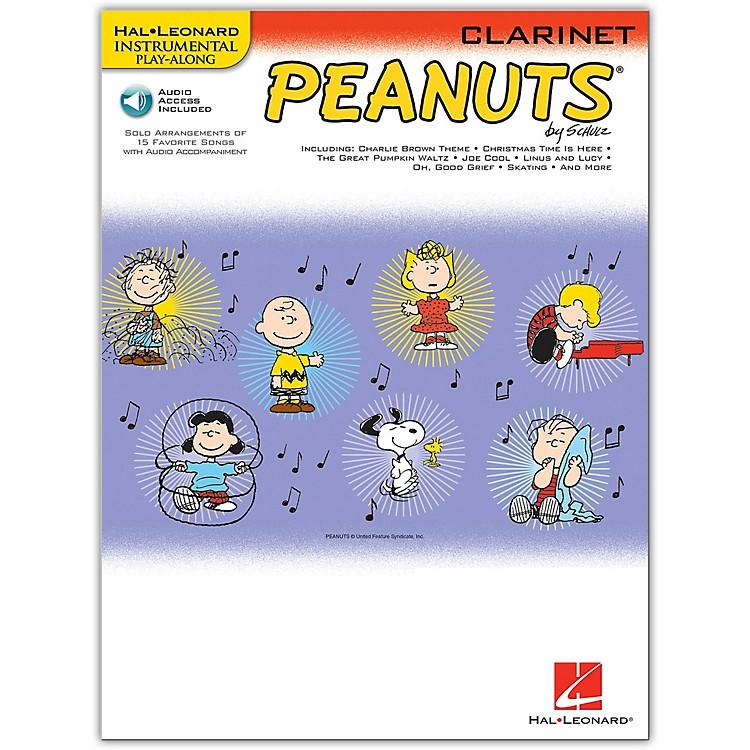 Hal LeonardPeanuts for Clarinet - Instrumental Play-Along Book/Online Audio