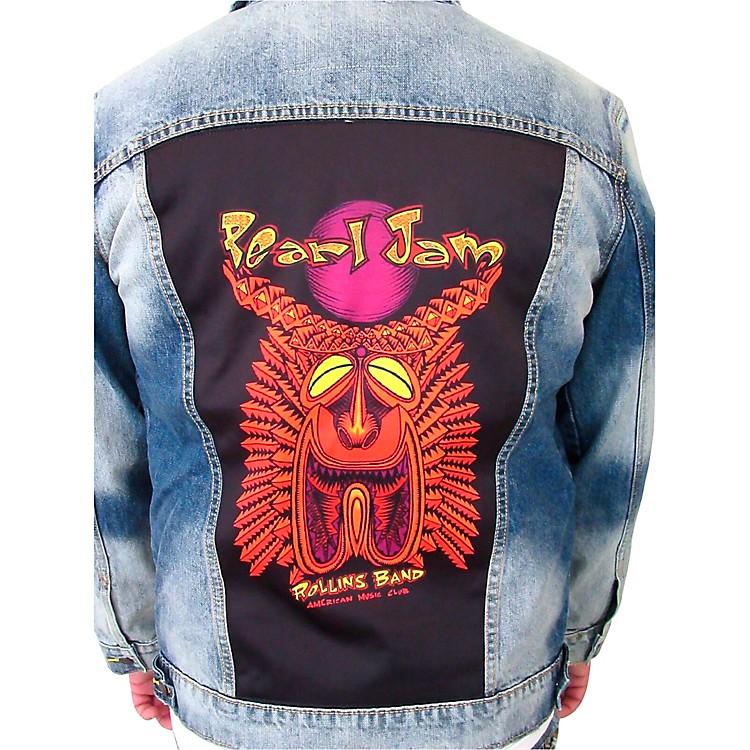 Dragonfly ClothingPearl Jam - Tiki Torch - Mens Denim JacketLarge