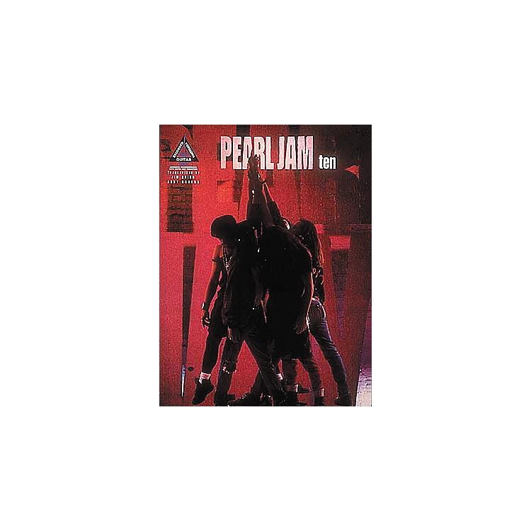Hal LeonardPearl Jam Ten Guitar Tab Songbook