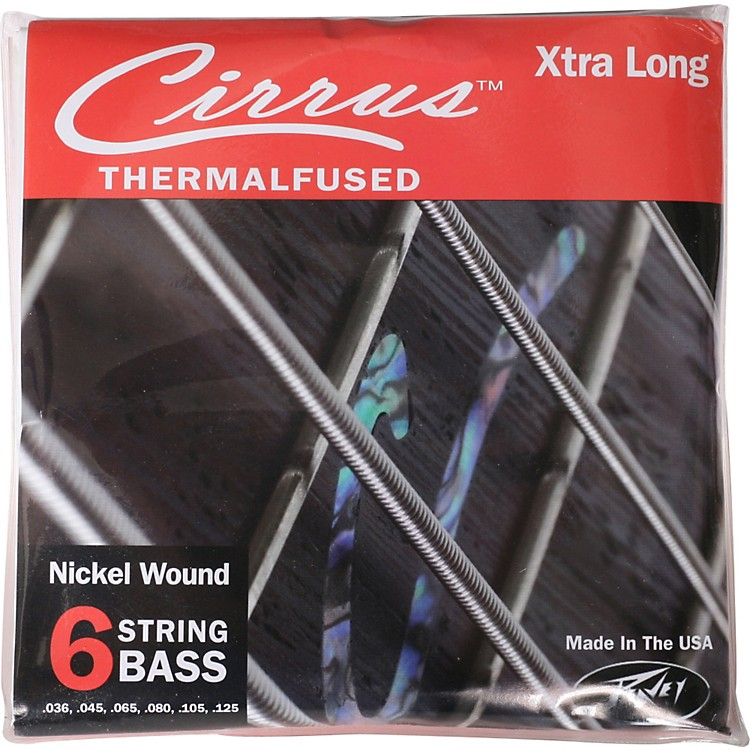 PeaveyPeavey Cirrus Nickel-Wound Electric Bass Strings 6XL