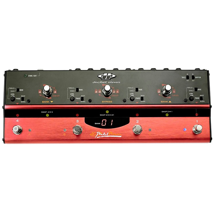 Decibel ElevenPedal Palette Analog Loop Bypass Switcher/Router/Mixer888365849553