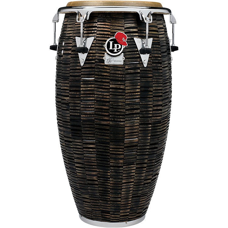 LP Pedrito Martinez Signature Top Tuning Deep Cut Mango Conga 12.50 in. Stained Mocha