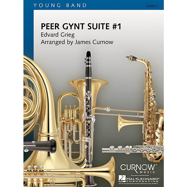 Curnow MusicPeer Gynt Suite No. 1 (Grade 2 - Score and Parts) Concert Band Level 2 Arranged by James Curnow